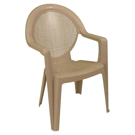 High Patio Chairs - madras high back patio club chair us457110 the home depot