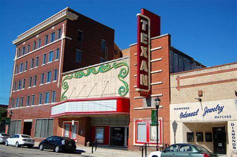 texan theatre greenville tx closed renovation