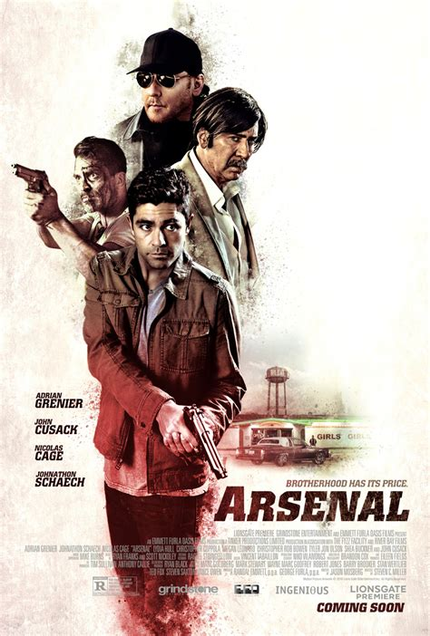 Dvd Arsenal Sol Cbels Story nicolas cage nose what he s doing in arsenal trailer