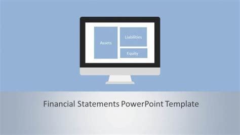 financial statements powerpoint template slidemodel
