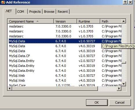 membuat koneksi database mysql dengan vb 6 0 membuat koneksi database mysql dengan vb net pengetahuan