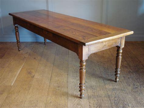 Sold 19th century oak amp walnut farmhouse table antique recent acquisitions
