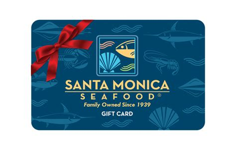 Sms Gift Cards - gift cards santa monica seafood market cafe