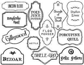 potion label template harry potter potion labels printable paper trail design