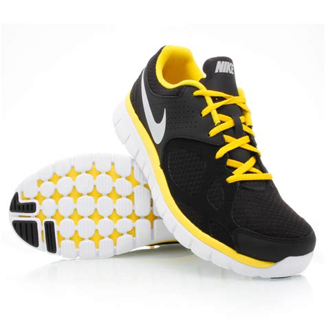 Ardiles Malovic Black Yellow Running Shoes nike flex 2012 mens running shoes black white yellow sportitude
