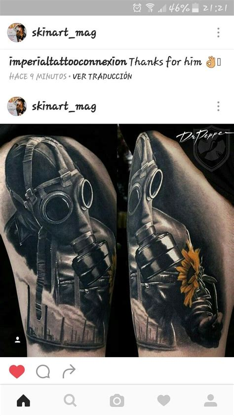 tattoo nightmares gas mask pin by diego alejandro klonn on mascaras de gas tattoo