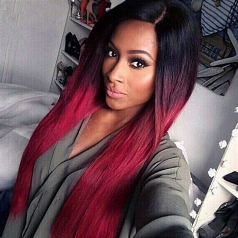 long hairsylers black women for 28y of age aliexpress com buy 28 long ombre red hair wigs for