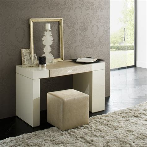 contemporary bedroom vanity rossetto furniture diamond ivory dressing table