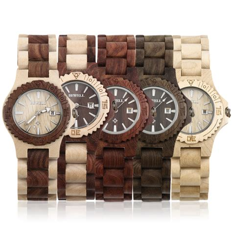Jam Tangan Kayu Bobobird kopen wholesale houten horloges uit china houten