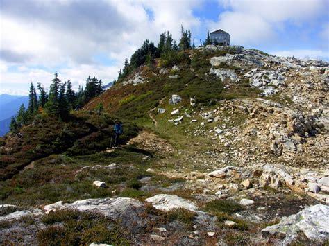 sourdough mountain trail north cascades national park