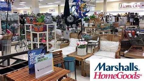marshalls home goods summer outdoor furniture decor shop   shopping store walk