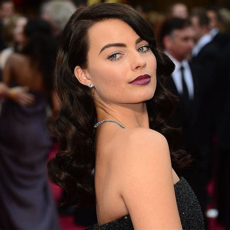 margot robbie oscars hair 2014 celebrity hair and makeup pictures live from the 2014