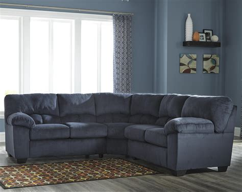 ashley furniture sectional couch ashley signature design dailey casual contemporary