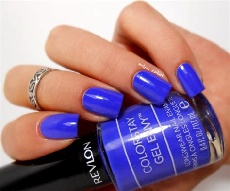 Revlon Colorstay Gel Envy Card revlon card swatch by melyne nailart nailpolis museum of nail