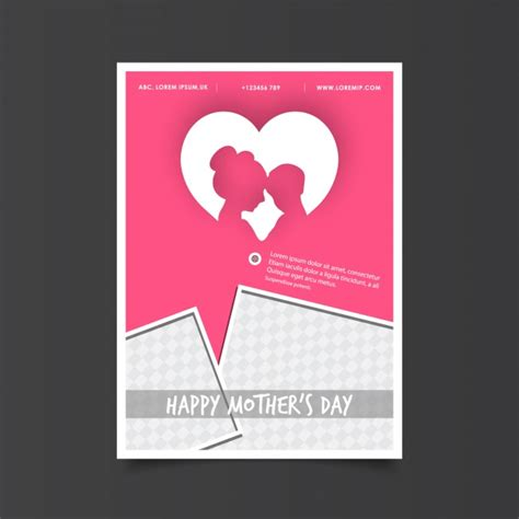 Mothers Day Poster S Day Poster With Vector Free