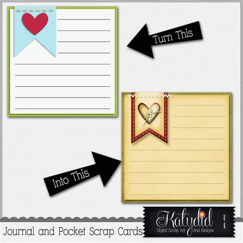 cards and pockets templates journal or pocket scrapbooking cards layered templates