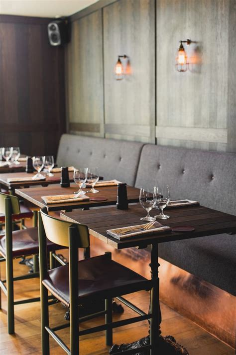 dining set leather banquette  shaped banquette