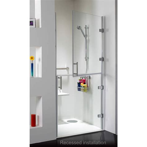 Hinged Shower Doors Uk Ambulant Split Hinged Shower Enclosure Uk Bathrooms