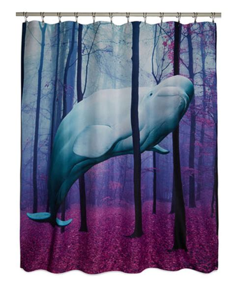 urban outfitters whale shower curtain shower curtains that make bathing magical style