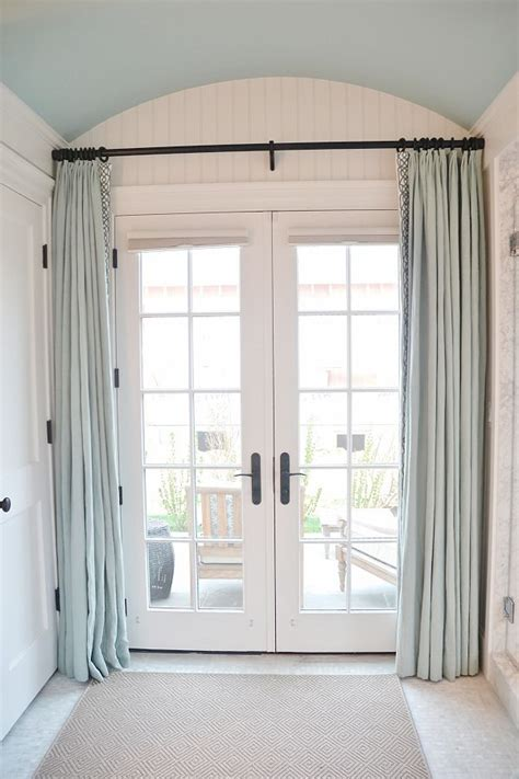 doorway privacy curtains 17 best ideas about french door curtains on pinterest french door coverings french door
