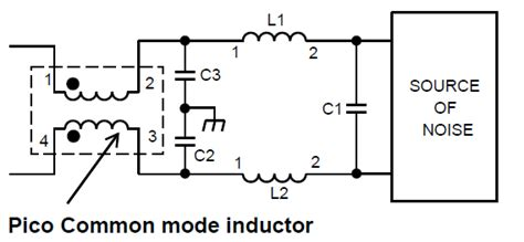 inductor for noise reduction high current common mode emi suppression inductors pico