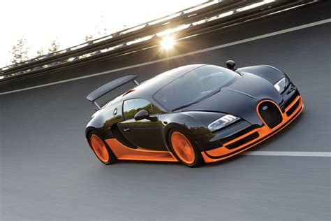 bugatti veyron supersport bugatti introduces veyron 16 4 super sport world record