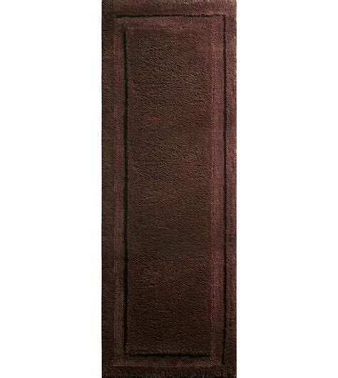 Microfiber Bathroom Rugs Microfiber Chocolate Spa Rug In Bathroom Rugs