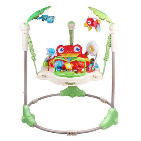bouncing swing baby free shipping rainforest jumperoo baby bouncer rocking