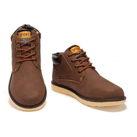 botas de cuero para hombres zapatos hombre otono invierno 2016
