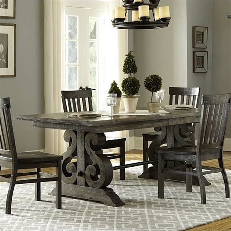 Buy Cheap Magnussen Bellamy Wood Rectangular Dining Table