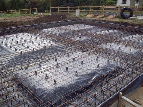 building a garage on a slab foundation