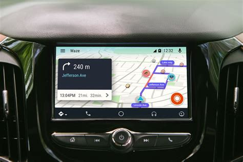 Navigation Auto by Waze Arrives On Android Auto The Verge
