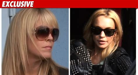 Lindsay Leaves Ex With A Lasting Impression by Lindsay Lohan I Need My Tmz