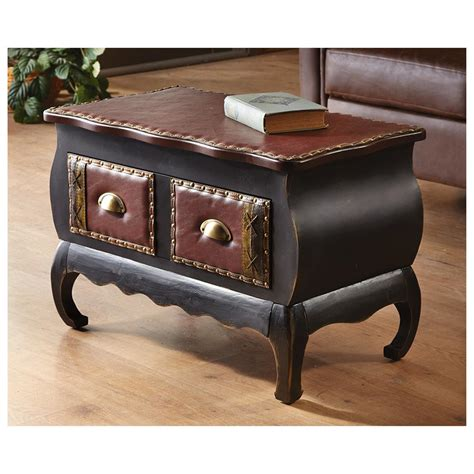 home goods accent tables river of goods studded accent table 592478 living room