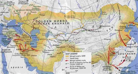 mongol empire map i was here genghis khan
