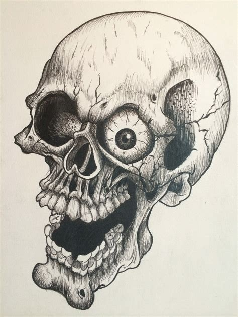 cartoon skull tattoo designs skull drawing 19 skull drawings ideas