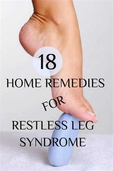 18 home remedies for restless leg fashion fitness
