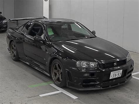 nissan r34 black torque gt auction report r34 gtr special