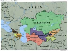 Map Central Asia by Asian Steppe World Map Images Amp Pictures Becuo
