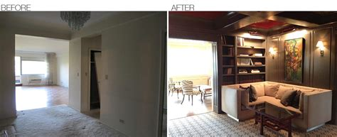 interior decorator before and after before after area interior design