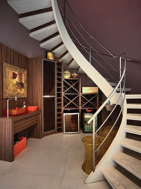 wine storage under stairs 20 eye catching under stairs wine storage ideas