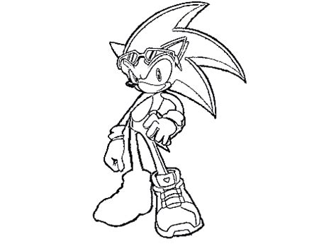 original project sonic free rider pose colouring contest