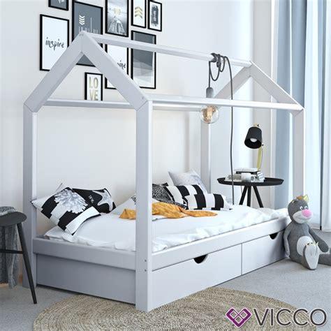 vicco kinderbett hausbett design 90x200cm mit schubladen vicco hausbett kinderhaus kinderbett wiki 90x200cm mit