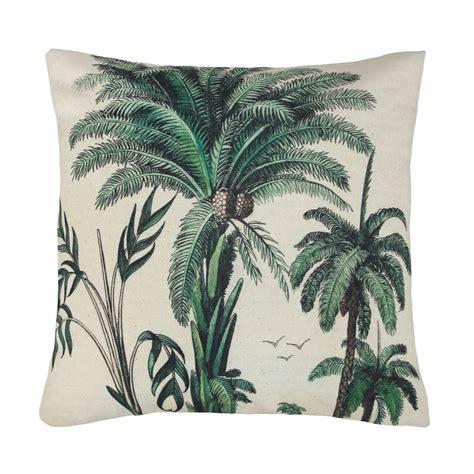 designer kissen tropical palm trees cushion frankie