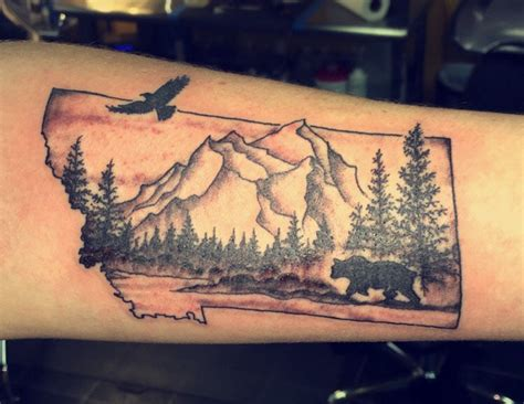 tattoo shops great falls mt montana for tattoos inspired by the big sky state