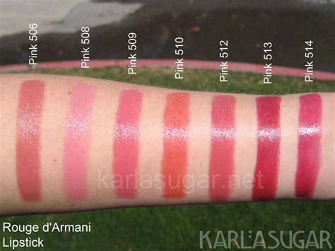 Lipstik Ysl Di Counter d armani pink ecstasy swatches photos reviews