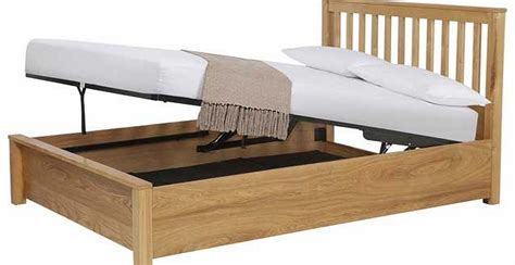 pine ottoman bed double bed frame pine headboard