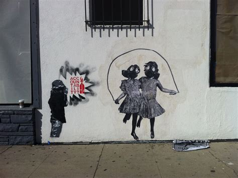 Banksy Wall Mural the gallerista banksy is graffiti art the new political