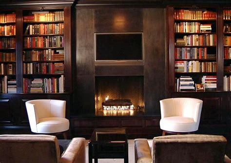 Library Fireplace by See This House 8 Million Buys Two Styles In One