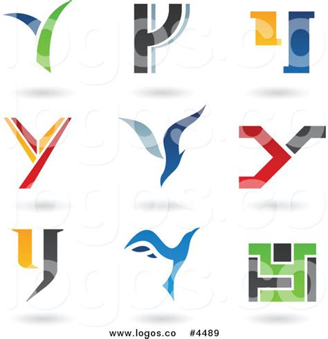 royalty free collage of letter y logo by cidepix 4489